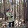 """Поход """"В гости к уральским дольменам"""", ноябрь 2008 года. Удачный кадр"""
