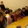 Встреча со студентами Педуниверситета, март 2005 года. Слушатели