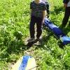 Сплав по реке Серга, июль 2005. Сбор катамаранов