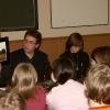 Встреча со студентами Педуниверситета, март 2005 года. Показ фотовыставки