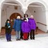 Рождество во Всеволодске - 2005. У входа в церковь