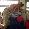 Сплав по реке Серга, июль 2007 года. Я чуток с собой захватил!