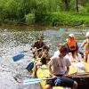 Сплав по реке Серга, июль 2005. На 'кате'