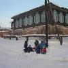 """""""Поход за ремёслами"""", январь 2005 года. Прогулка по дер. Канаши"""