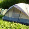 Сплав по реке Серга, июль 2005. Наши палатки