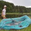 Сплав по реке Серга, июль 2007 года. Работник