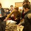 Палеонтологическая экскурсия, ноябрь 2005 года. Обсуждение находок