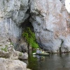 Сплав по реке Серга, июль 2005. Дыроватый Камень