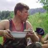 Сплав по реке Серга, июль 2007 года. Голод