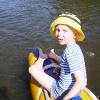 Сплав по реке Серга, июль 2005. Ваня Гущин