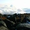 Поход на Конжаковский камень, ноябрь 2007 года. Небо, туман, горы