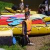 Сплав по реке Серга, июль 2005. Юный водник