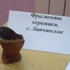 """Открытие выставки """"Итоги палеоэкспедиции-2007"""". Среди находок - древний кубок"""