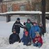 """""""Поход за ремёслами"""", январь 2005 года. Наша ребятня"""
