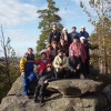 """Поход """"В гости к уральским дольменам"""", ноябрь 2008 года. На вершине Уральского Эвереста"""