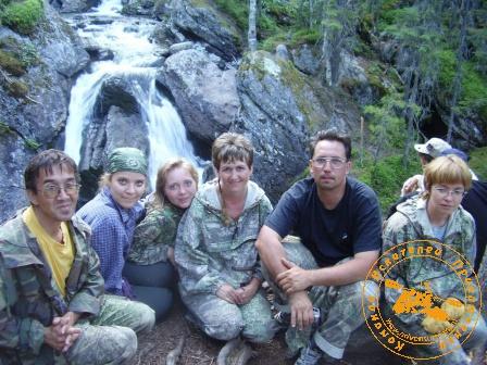 У водопала реки Жигалан