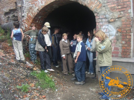Детская палеонтологическая экспедиция 2006 года. Экскурсия по Ирбиту.