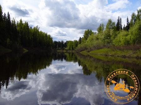 Древняя река манси