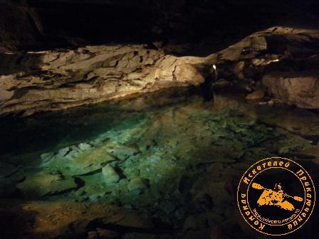 В Кунгурской Ледяной пещере