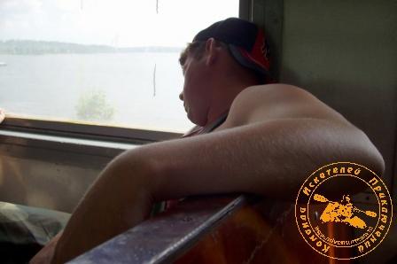 Сплав по реке Серга, июль 2007 года. Усталость