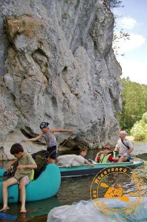 Сплав по реке Серга, июль 2004 года. Сплав