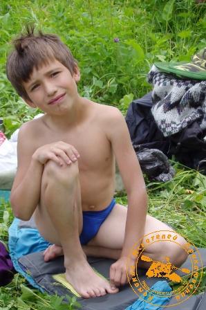 Сплав по реке Серга, июль 2004 года. Тим Слепухин