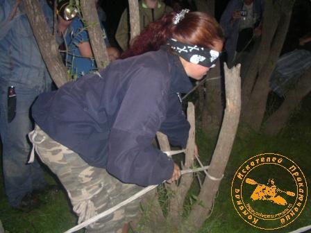 Детская палеонтологическая экспедиция 2006 года. Посвящение в палеонтологи.