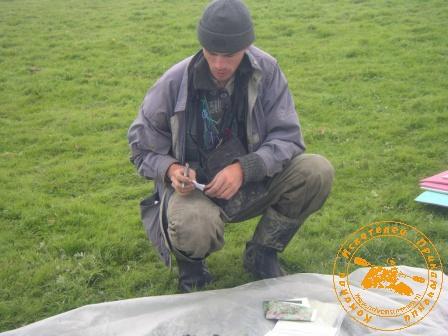 Детская палеонтологическая экспедиция 2006 года. Дневной урожай