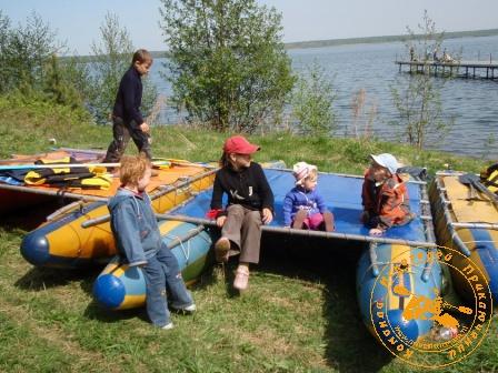 Игра с коллективом УЗХР на Дне химика, май 2008 года. Детские разговоры