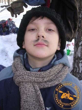 """Экспедиция """"Зимняя Сказка"""", февраль 2007 года. Сева"""