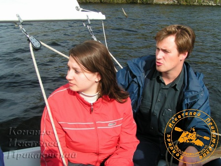 II День рождения КИП, сентябрь 2005 года. Катя Киселёва