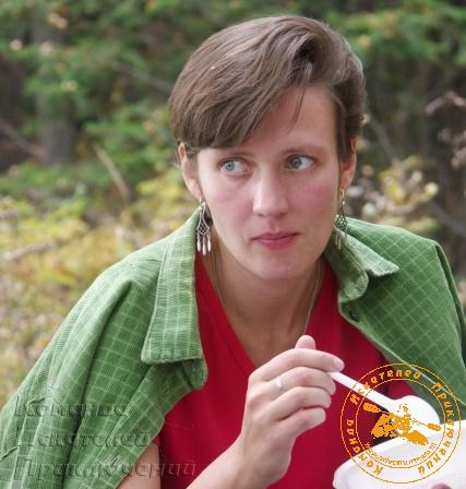 II День рождения КИП, сентябрь 2005 года. Юля Шлентова