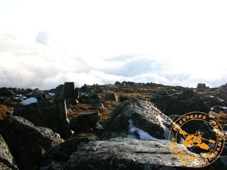 Поход на Конжаковский камень, ноябрь 2007 года. Камни Конжака
