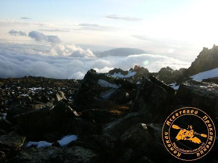 Поход на Конжаковский камень, ноябрь 2007 года. Горы в тумане