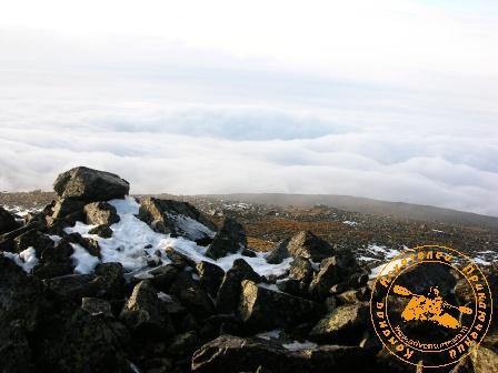 Поход на Конжаковский камень, ноябрь 2007 года. Туман отступает