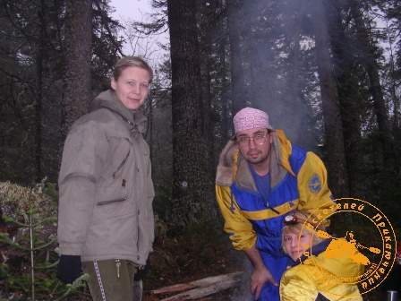Поход на Конжаковский камень, ноябрь 2007 года. Фото с девушками