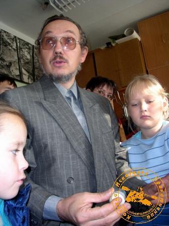 Палеонтологическая экскурсия, ноябрь 2005 года. Рассказ Николая Геннадьевича