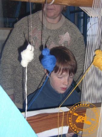 """Поход за ремёслами"", январь 2005 года. Алёшин ковёр"