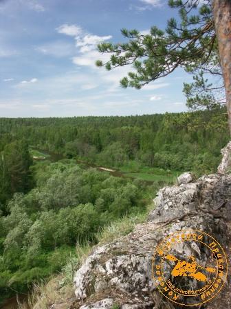 Сплав по реке Серга, июль 2005. Уральская даль