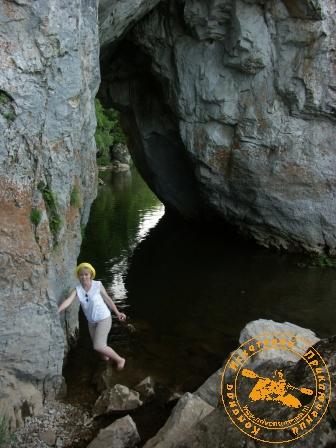 Сплав по реке Серга, июль 2005. Грот Дыроватого