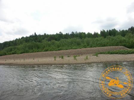 Сплав по реке Серга, июль 2005. Плёс