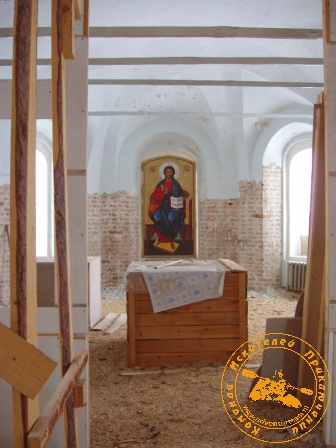Рождество во Всеволодске - 2005. В церкви Петра и Павла