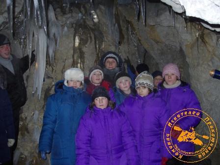Рождество во Всеволодске - 2005. В пещере