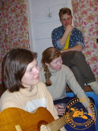 Рождество во Всеволодске - 2005. Песни под гитару
