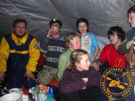 Празднование КИПом Нового 2007 года. Семейный киповский праздник