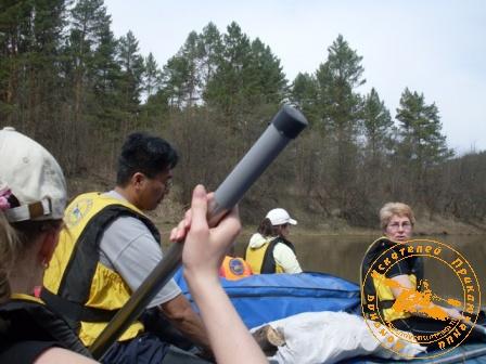 Сплав по реке Уфа 9 мая