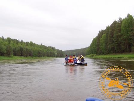 Сплав по реке Нейва в День России. По красавице Нейве