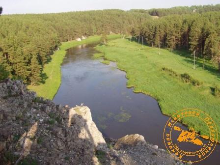 Сплав по реке Нейва в День России. Долина Нейвы
