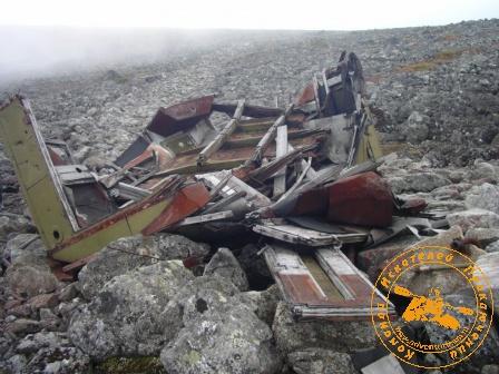 останки второй базы военных на Чистопе