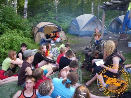 Школа Юного Туриста (ШЮТ) на Среднем Урале - июль